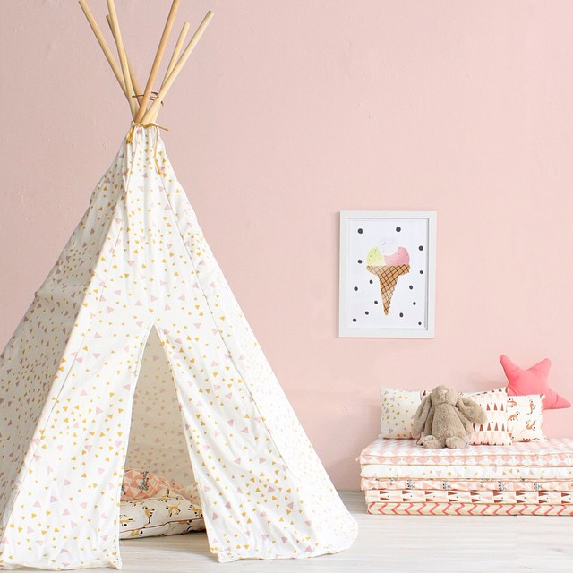 nobodinoz tipi zelt pink diamonds puenktchen. Black Bedroom Furniture Sets. Home Design Ideas