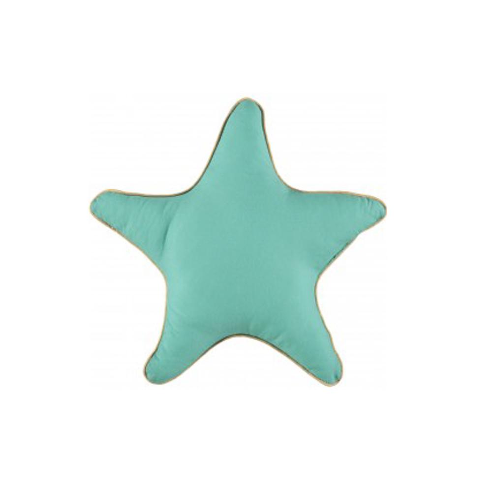 Nobodinoz Stern Kissen grou00df u0026quot;Greenu0026quot; : Puenktchen