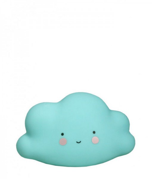 Wolken-Mini-Lampe-Blau-Lovely-Company