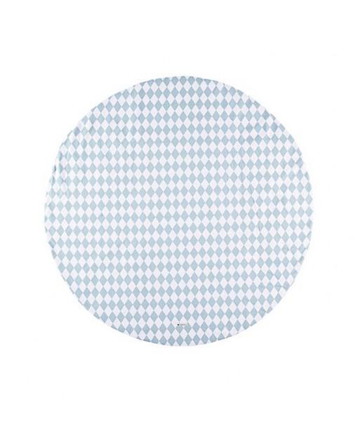 nobodinoz carpet blue diamonds
