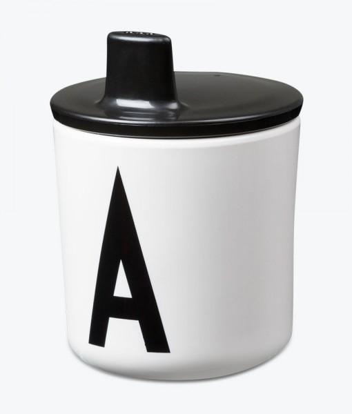 Design Letters schwarzer Trinklernaufsatz