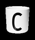 design letters melamin cup c