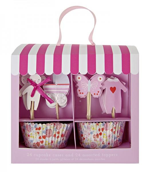 Meri Meri Cupcake Kit pink