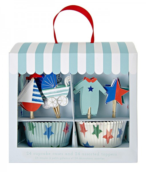 Meri Meri Cupcake Kit blue