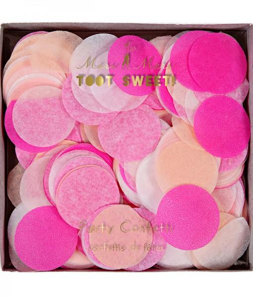 Meri Meri Party Konfetti pink