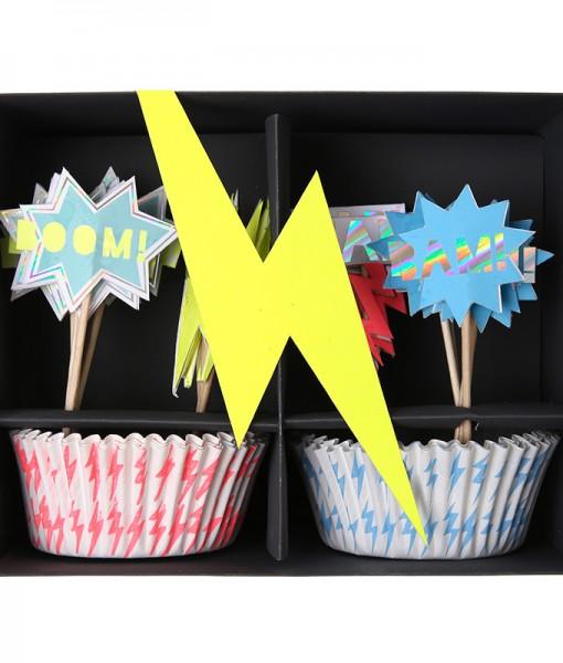 Meri Meri Superhero Cupcake Kit