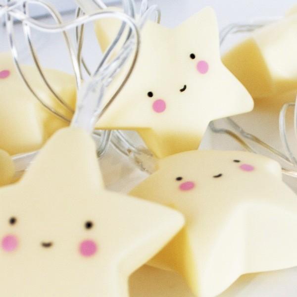A Little Lovely Company Lichterkette Sterne | Puenktchen