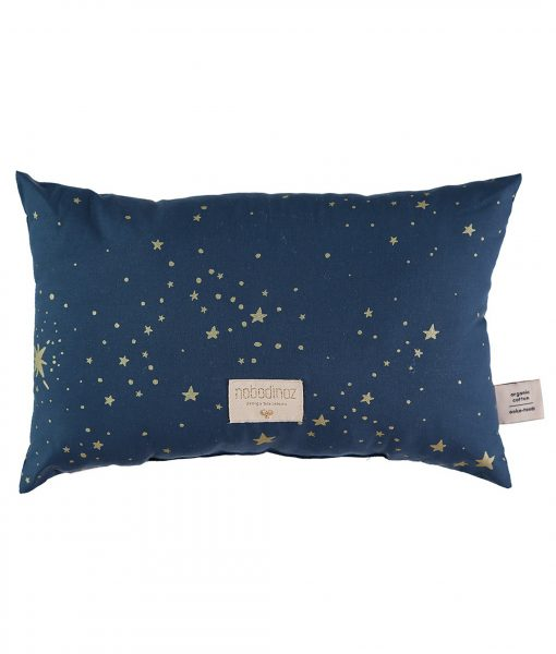 nobodinoz kissen laurel gold stella dream night blue