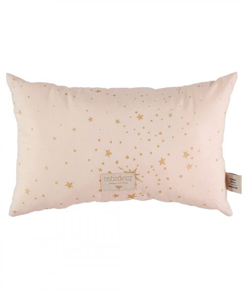 nobodinoz kissen laurel gold stella dream pink