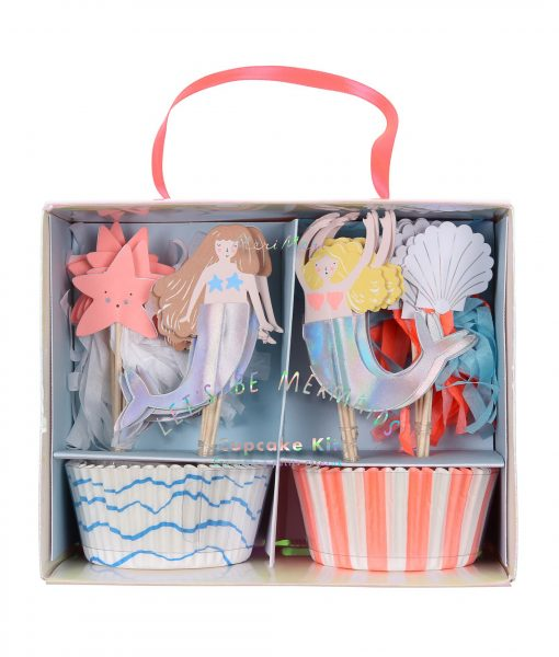 Meri Meri Let´s be Mermaids Cupcake Kit