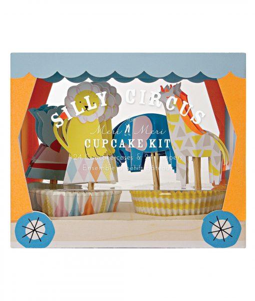 Mer Meri Silly Circus Cupcake Kit