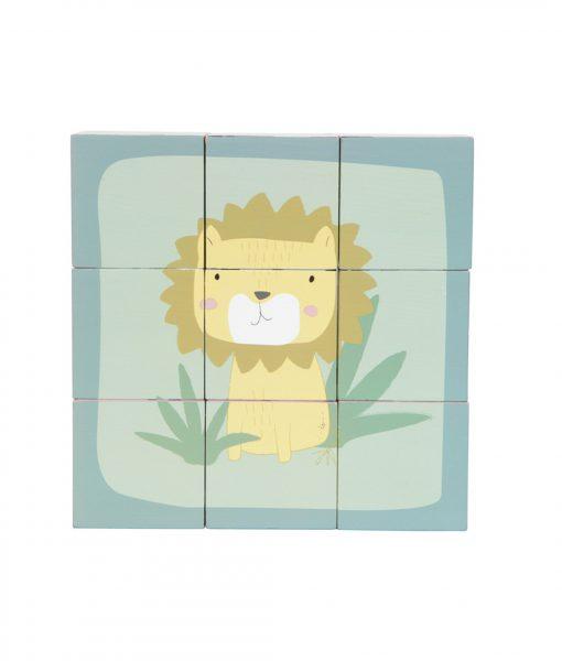 little dutch würfel puzzle zoo 4