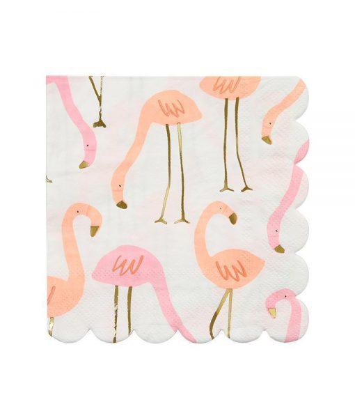 meri meri servietten flamingo
