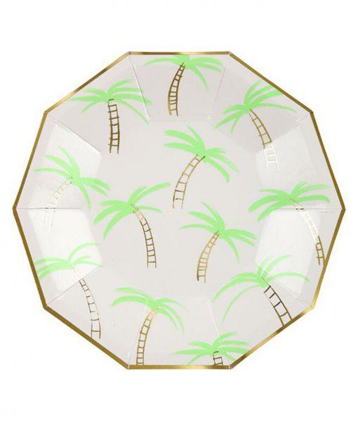 meri meri pappteller palme