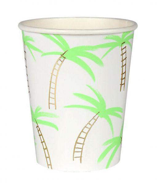 meri meri pappbecher palme